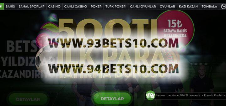 93Bets10.com - 94Bets10.com Yeni Adresleri