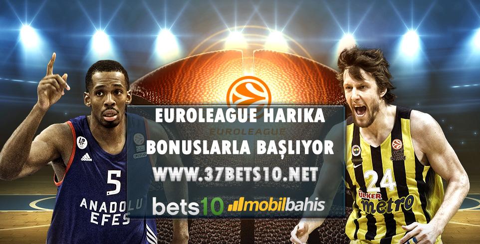 Euroleague Harika Bonuslarla Başlıyor